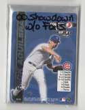 2000 MLB Showdown 1st Ed w/o Foils CHICAGO CUBS Team Set