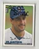 1995 Collectors Choice Silver Signature - HOUSTON ASTROS Team Set