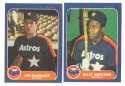 1984 - 1992 Fleer Updates (9 years) HOUSTON ASTROS Team set