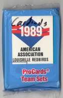 1989 ProCards Minor League Team Set - Louisville Red Birds (Cardinals)