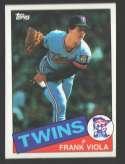 1985 Topps - MINNESOTA TWINS Team Set Puckett O/C