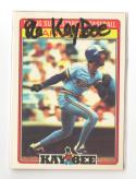 1986 Kay-Bee MILWAUKEE BREWERS Team Set