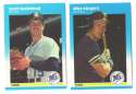 1987 Fleer Update Regular and Glossy SEATTLE MARINERS Team Set
