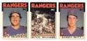 1986 Topps Traded TIFFANY - TEXAS RANGERS Team Set