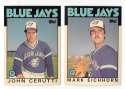 1986 Topps Traded TIFFANY - TORONTO BLUE JAYS Team Set