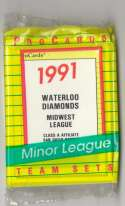 1991 ProCards Minor League Team Set - Waterloo Diamonds - PADRES