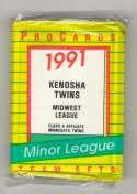 1991 ProCards Minor League Team Set - Kenosha TWINS