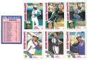 1984 Topps Tiffany - MONTREAL EXPOS Team Set