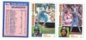 1984 Topps Tiffany - SEATTLE MARINERS Team Set