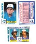 1984 Topps Tiffany - TORONTO BLUE JAYS Team Set