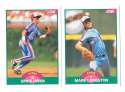 1989 Score Rookies and Traded - MONTREAL EXPOS Team Set