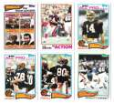 1982 Topps Football Team Set - CINCINNATI BENGALS