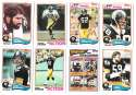 1982 Topps Football Team Set - PITTSBURGH STEELERS