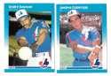 1987 Fleer Glossy - MONTREAL EXPOS Team Set