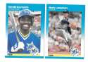 1987 Fleer Glossy - SEATTLE MARINERS Team Set