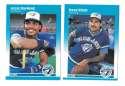 1987 Fleer Glossy - TORONTO BLUE JAYS Team Set