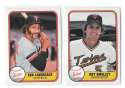 1981 FLEER - MINNESOTA TWINS Team Set