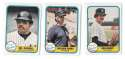 1981 FLEER - NEW YORK YANKEES Team Set