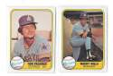 1981 FLEER - SEATTLE MARINERS Team Set