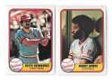 1981 FLEER - ST LOUIS CARDINALS Team Set