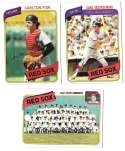 1980 Topps - BOSTON RED SOX Team Set