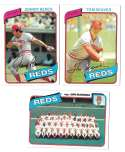 1980 Topps - CINCINNATI REDS Team Set  w/ Johnny Bench Tom Seaver