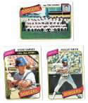 1980 Topps - LOS ANGELES DODGERS Team Set
