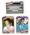 1980 Topps - MINNESOTA TWINS Team Set