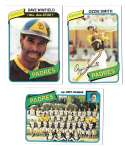 1980 Topps - SAN DIEGO PADRES Team Set  w/ OZZIE SMITH