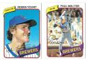 1980 Topps - MILWAUKEE BREWERS Near Team Set w/o #659