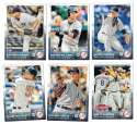 2015 Topps Update - NEW YORK YANKEES Team Set