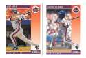 1992 Score Rookies and Traded - NEW YORK METS Team Set