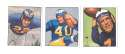 1950 Bowman Football Reprint Team Set - LOS ANGELES RAMS
