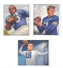 1950 Bowman Football Reprint Team Set - NEW YORK YANKS