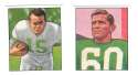 1950 Bowman Football Reprint Team Set - PHILADELPHIA EAGLES