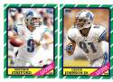 2013 Topps Archives Football Team Set - DETROIT LIONS