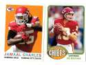 2013 Topps Archives Football (1-200) Team Set - KANSAS CITY CHIEFS