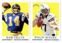 2013 Topps Archives Football (1-200) Team Set - SAN DIEGO CHARGERS