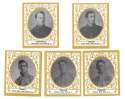 1909 Ramly T204 Reprints - NEW YORK YANKEES Team Set