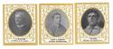 1909 Ramly T204 Reprints - 3 card lot of cards not in team sets