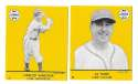 1941 Goudey (Yellow) Reprints - CHICAGO CUBS Team Set