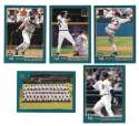 2001 Topps Employees (SNOW) - DETROIT TIGERS Team Set