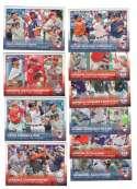 2015 Topps Mini - League Leaders 10 card subset