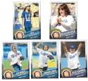 2015 Topps First Pitch - LOS ANGELES DODGERS Team Set