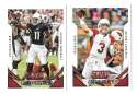 2015 Score Football Team Set - ARIZONA CARDINALS