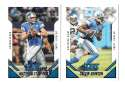 2015 Score Football Team Set - DETROIT LIONS