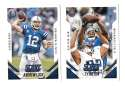2015 Score Football Team Set - INDIANAPOLIS COLTS