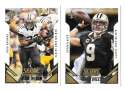 2015 Score Football Team Set - NEW ORLEANS SAINTS