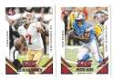 2015 Score Football Team Set - SAN FRANCISCO 49ERS