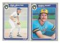 1985 FLEER - MILWAUKEE BREWERS Team Set